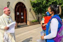 [Chaco] Monseñor Dus recibió a Barrios de Pie por el día de San Cayetano