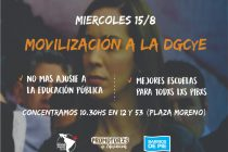 [La Plata] No al vaciamiento de la educación pública