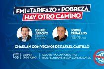 [La Matanza] Arroyo, Ceballos y Oviedo con los vecinos