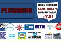 [Pergamino] Organizaciones piden por asistencia sanitaria y alimentaria.