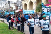 [Corrientes] Organizaciones se movilizaron por un salario acorde a la canasta básica