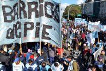 [CABA] Barrios de Pie moviliza por falta de entrega de alimentos: Av. de Mayo y 9 de Julio 12 hs.