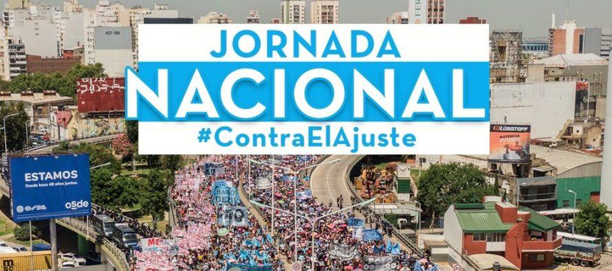 Martes 27. Barrios de Pie realizará una nueva Jornada Nacional de movilización.