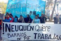 [Neuquén] Conferencia de prensa Barrios de Pie: relevamiento de barrios populares