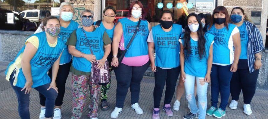 [Tandil] Barrios de Pie protestó ante Desarrollo Humano y Hábitat.