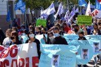 [Chaco] Mumalá movilizó por el femicidio de Marilú Robledo.