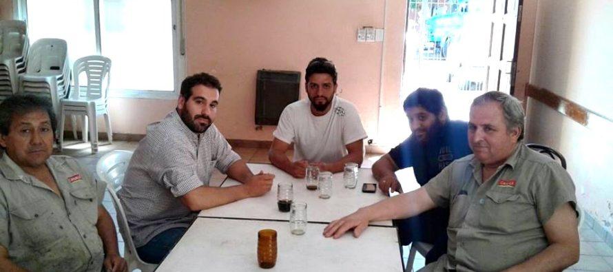 [Lomas de Zamora] Libres del Sur con los trabajadores de Alco Canale