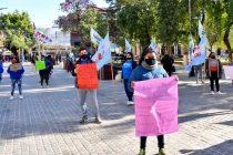 [Santiago del Estero] Se movilizaron contra la violencia policial.