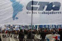 CTA: Carpa de los trabajadores y trabajadoras y Jornada Nacional de Lucha