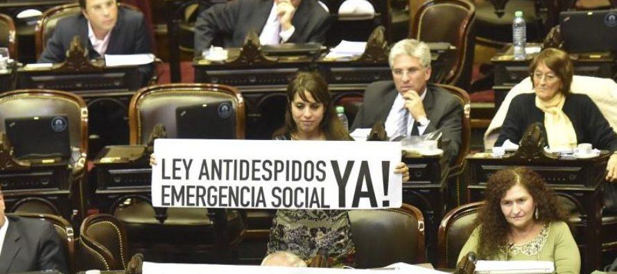 """Victoria Donda: """"Para eso están estas bancas, Libres del Sur sigue pidiendo, ley antidespidos ya"""""""