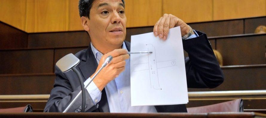 """[Neuquén] Jesús Escobar: """"Lo advertimos y denunciamos: la obra inconclusa del Tercer Puente es un peligro inminente"""