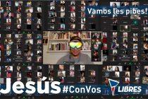 [Neuquén] Jesús Escobar por Zoom con más de 250 jóvenes de toda la provincia.