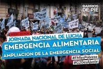 Hoy: Jornada Nacional de Protesta. Barrios de Pie, Polo Obrero y otras organizaciones