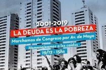 [CABA] Homenaje. Libres del Sur marchará hoy desde Congreso.