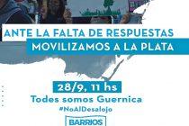 [La Plata] Desalojo en Guernica: Barrios de Pie movilizará este lunes.
