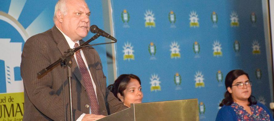 """[Tucumán] """"Este equipo vino para quedarse"""", expresó Federico Masso en un acto en la Municipalidad"""