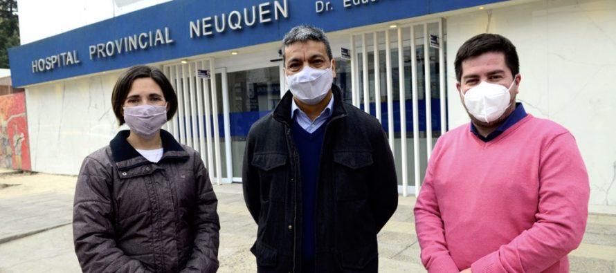 """[Neuquén] Jesús Escobar: """"Hay que reivindicar el rol del médico en el hospital""""."""