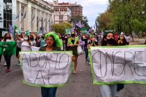 [Chaco] MuMaLa marchó por el pedido de Aborto Legal.