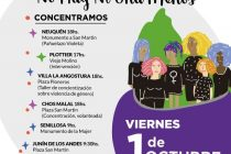 [Neuquén] Pañuelazos Violetas en toda la provincia por más presupuesto.