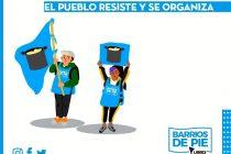 """Viernes 24. Jornada nacional de ollas populares """"el Pueblo resiste y se organiza"""""""
