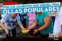 Barrios de Pie organizará ollas populares