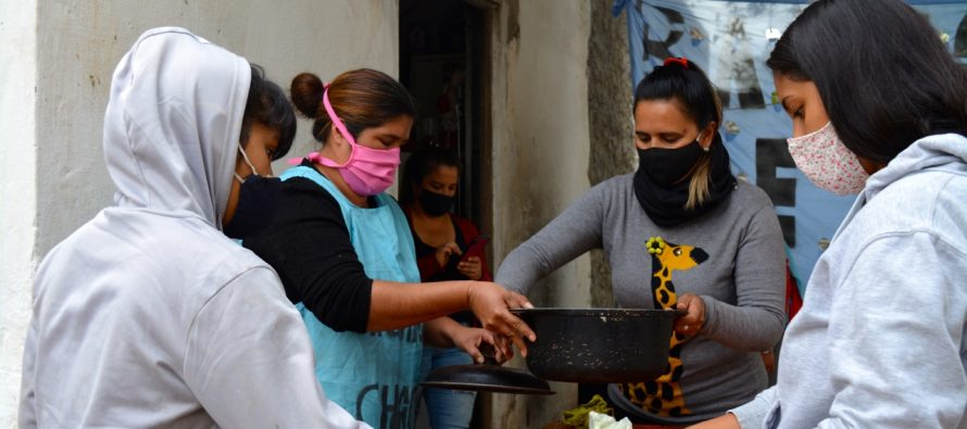 [Chaco] Sexta jornada de ollas populares en la provincia: Barrios de Pie advierte incumplimiento del gobierno provincial