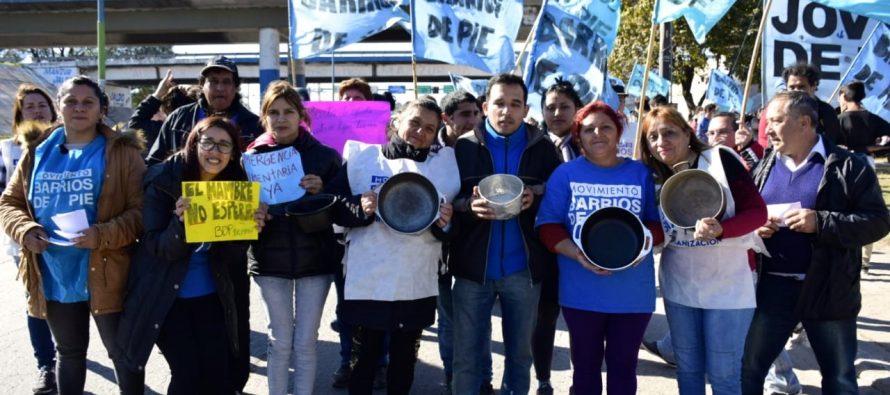 [Tucumán] Con ollas vacías Barrios de Pie protestó por el incremento de la pobreza