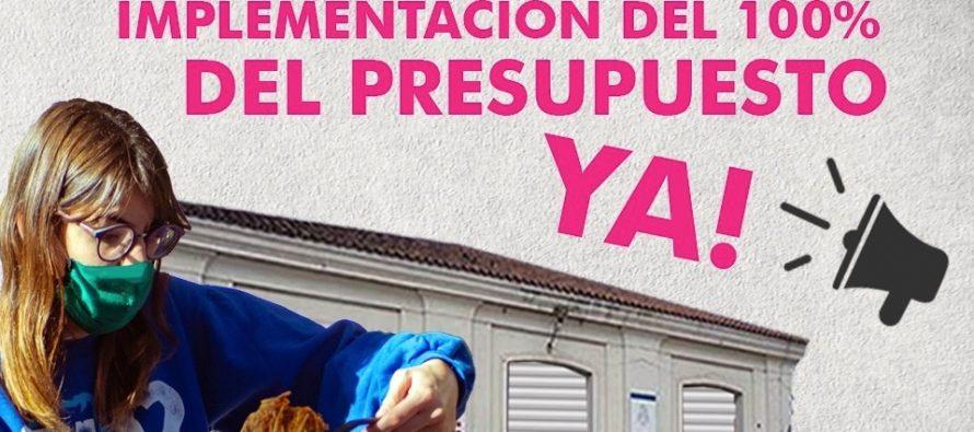 [Córdoba] Exigen a la UNC la implementación del 100% del presupuesto.