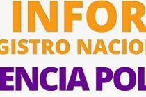 Se presentaron los resultados del Primer Registro Nacional de Violencia Policial.