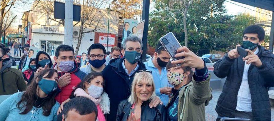 """[La Plata] Randazzo en City Bell: """"Nosotros apelamos a hacer otro camino, una Argentina que pueda crecer y pensar a futuro"""""""