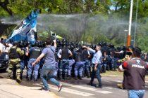 [Chaco] Luego de la represión. Marcharán por la libertad de los presos políticos.