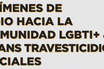 Registro Nacional de ataques y crímenes de odio hacia la comunidad LGBTI+ & Trans travesticidios sociales 2021.